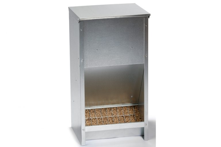 Little Giant Steel Chicken Feeder